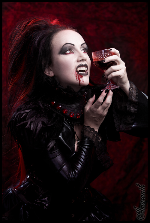 Vampires Drinking Blood From Girls